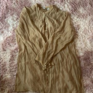 Chico's long sheer blouse